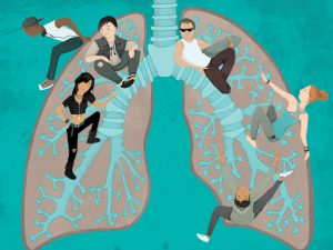 Asthma Illustration